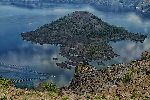 Crater Lake by Tom Kelly