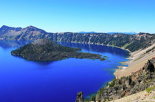 Crater Lake View 1 by Dawn Richards