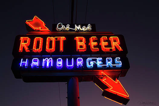 Cre Mel Root Beer Neon by Debby Richards