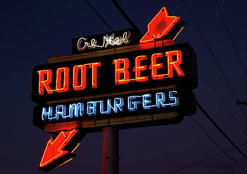 Cre Mel Root Beer Sign by Debby Richards