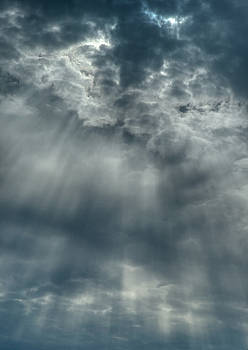Denise Beverly - Crepuscular rays clouds
