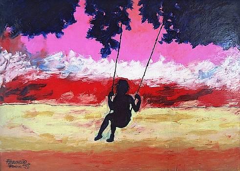 Crianca Brincando by Francivaldo Brandao