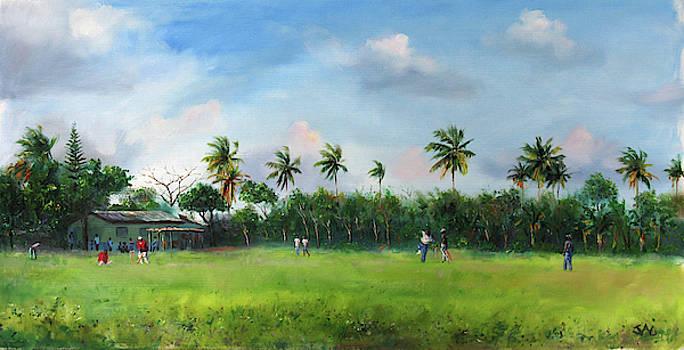 Cricket by Jonathan Guy-Gladding JAG