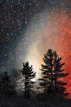 Crimson Borealis by Daniel McPheeters