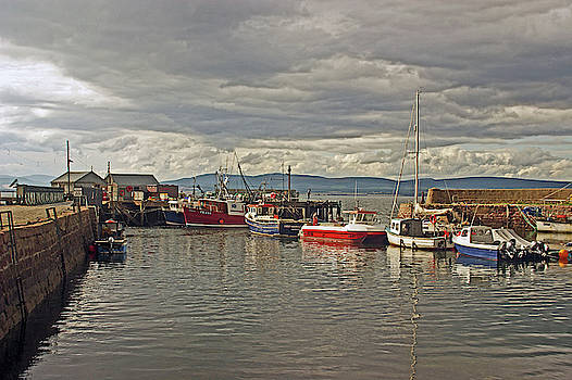 CROMARTY. The Harbour. by Lachlan Main