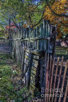 Crooked Fence by Warrena J Barnerd