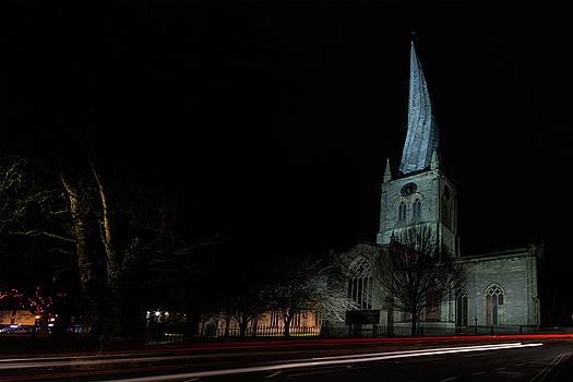 Crooked spire 1 by Steev Stamford