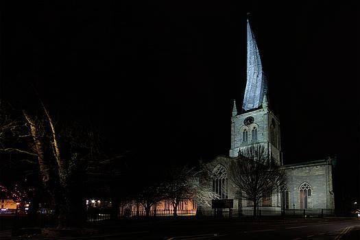 Crooked spire 2 by Steev Stamford