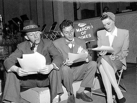 Crosby, Sinatra, & Garland Read Lines by Cbs Photo Archive