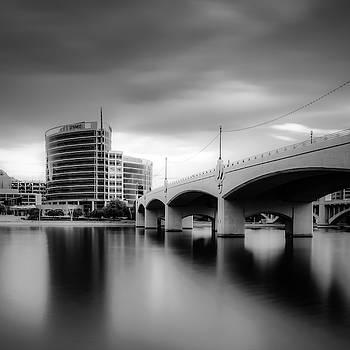 Crossing The Lake by Ken Mickel