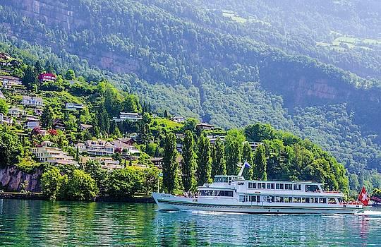 Cruising Lake Lucerne by Paul Croll