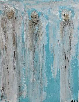 Crystal clear Angels  by Jennifer Nease