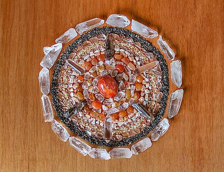 Crystal Mandala by Nathalie DAOUT