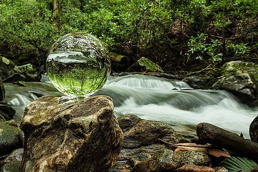 Crystall Vision Nantahala River by Kelly Kennon