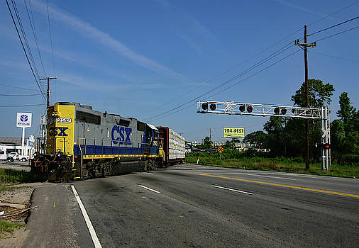 Csxt #2512 by Joseph C Hinson Photography