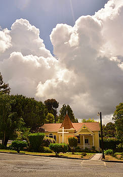 Majestic Clouds Above Beulah Chapel by Brian Tada