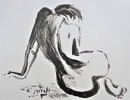 Curves 31 - Female Nude by Carmen Tyrrell