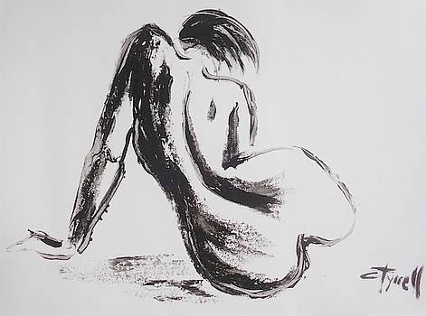 Curves 32 - Female Nude by Carmen Tyrrell