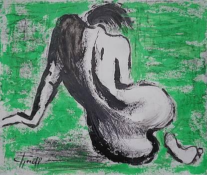 Curves 37 - Female Nude by Carmen Tyrrell