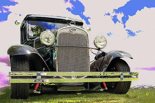 Customized 1930 Ford Model A Tudor Sedan  by John Bartelt