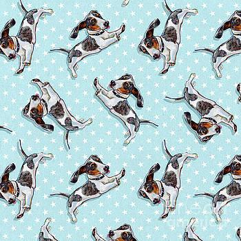Robert Phelps - Cute Dachshund Pattern