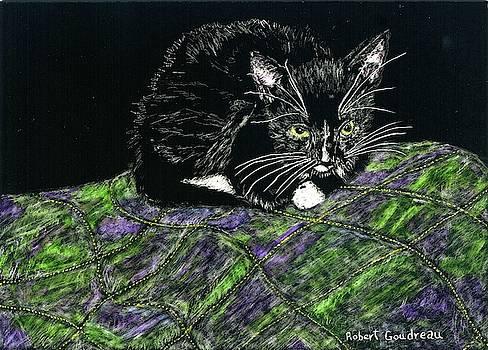 Cute Kitty by Robert Goudreau