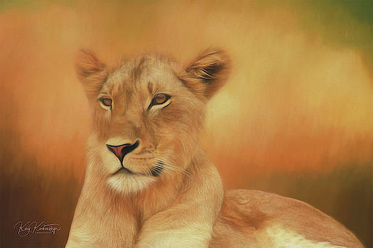 Cutest Lioness in Africa 5.0 by Kay Kochenderfer