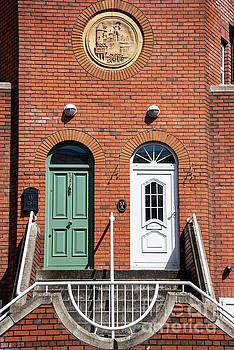 Bob Phillips - Cyan and White Dublin Doors