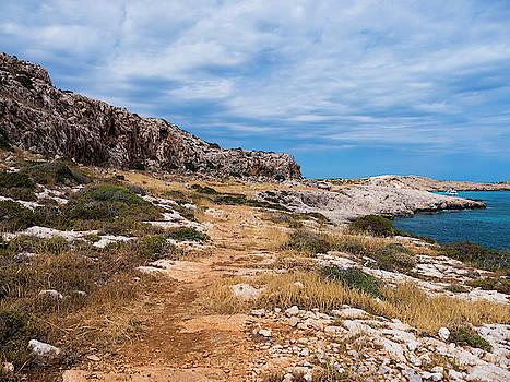 Cyprus Landscape by Rae Tucker