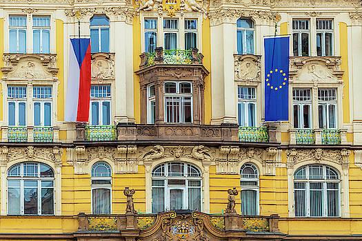 Czech Facade by Andrew Soundarajan