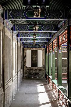 Dabei Buddhist Temple  by Iryna Liveoak