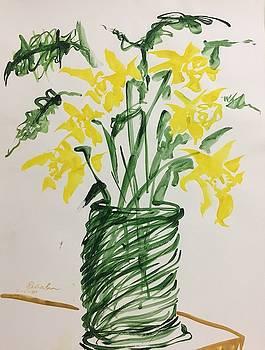 Daffodils by Ricardo Penalver