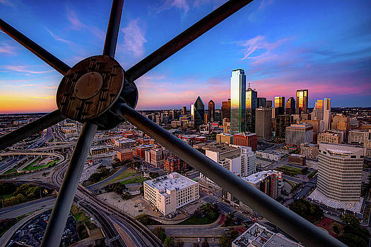 Dallas Skyline at Dusk by Gregory Ballos