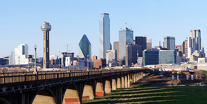 Dallas Texas Skyline 040219 by Rospotte Photography