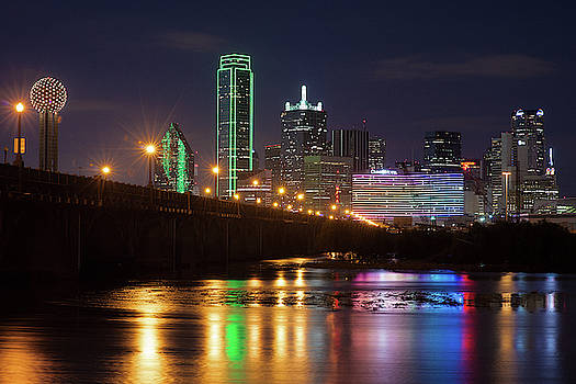 Dallas Texas Skyline 041019 by Rospotte Photography