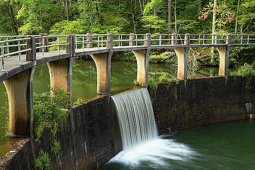 Dam at Cherokee Lake by Jim Allsopp