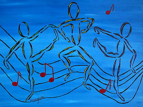 Dance Fever 2 by Pamela Allegretto