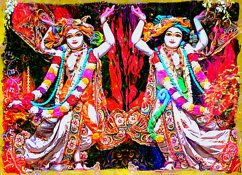 Bliss Of Art - Dance of Radha and Krishna