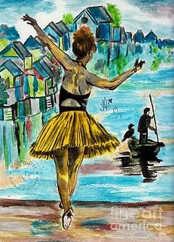 Dancing girl  by Ali Muhammad
