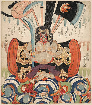 Utagawa Kunisada - Danjuro VII