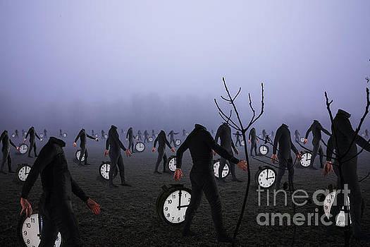 Dante's Clocks by Roberto Agagliate