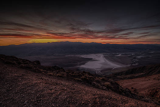 Dantes View Death Valley by Constance Puttkemery