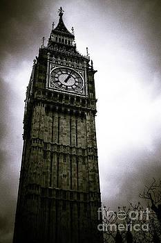 Dark Big Ben by Arnaldo Tarsetti