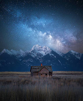 Dark Skies Last Frontier / Mission Mountains, Montana  by Nicholas Parker