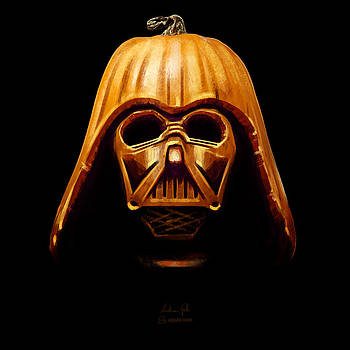 Darth Pumpkin by Andrea Gatti