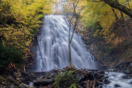 Dawn At Crabtree Falls by Mike Koenig