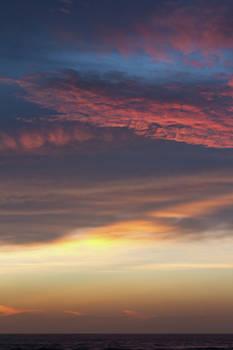 Paul Rebmann - Dawn Sky Colors in Layers