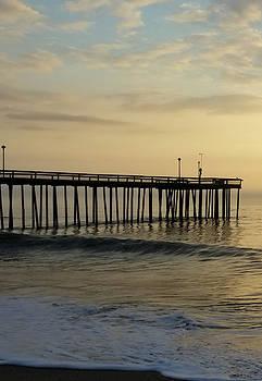 Daybreak Over The Ocean 1 by Robert Banach