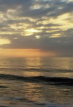 Daybreak Over The Ocean 3 by Robert Banach
