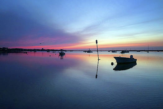 Daybreak Provincetown Harbor by David Posey